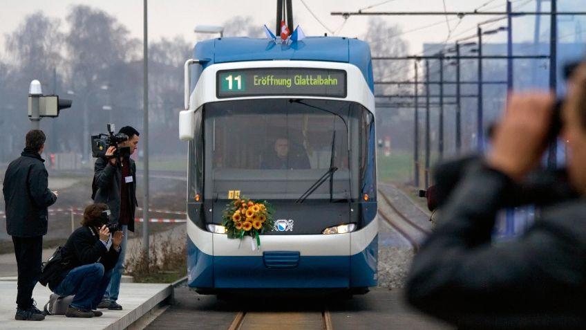 Glattalbahn  Jungfernfahrt