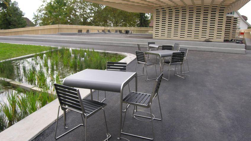 Erholungs-  und  Ruhezone  für  einen  ganzen  Stadtteil:  der  neue  Zuger  Stadtgarten