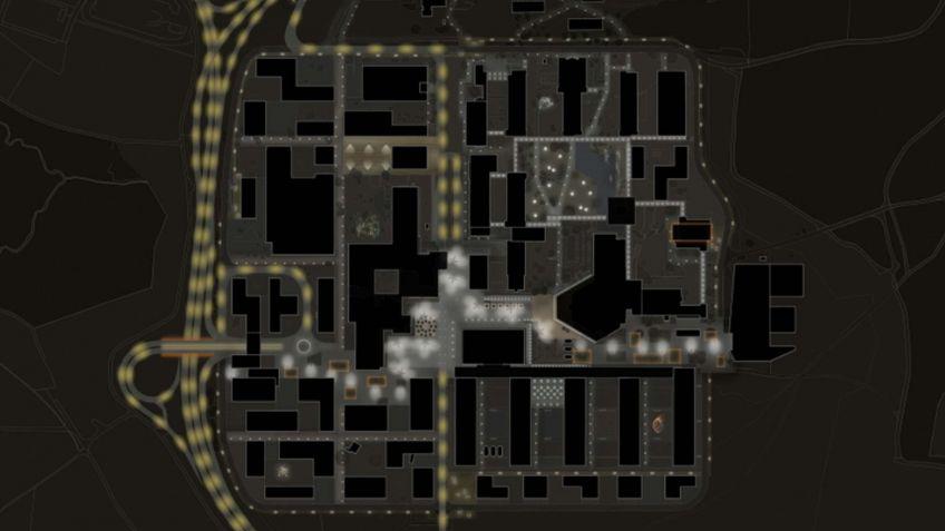 Lichtverteilungsplan,  ETH  Zürich