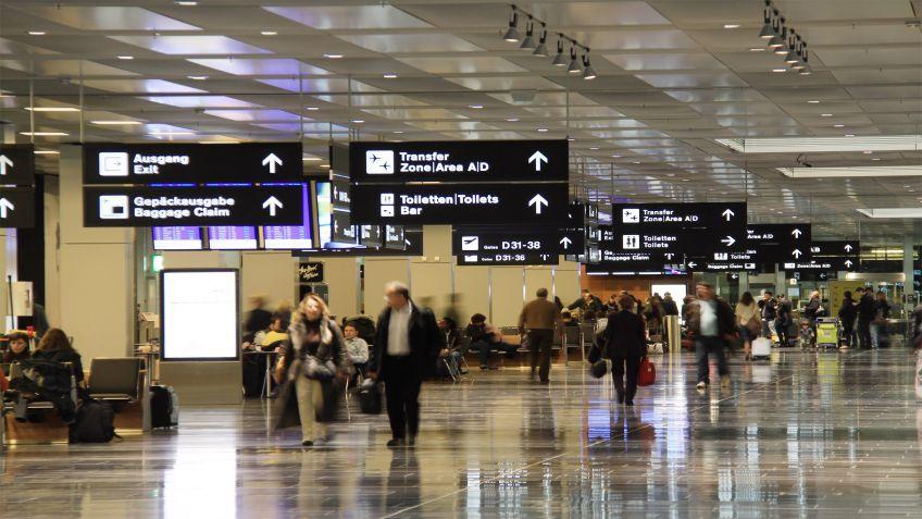 Signaletik  im  Kontext,  Flughafen  Zürich