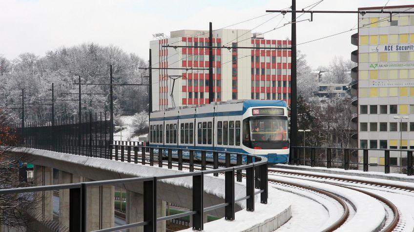 Glattalbahn  im  Einsatz