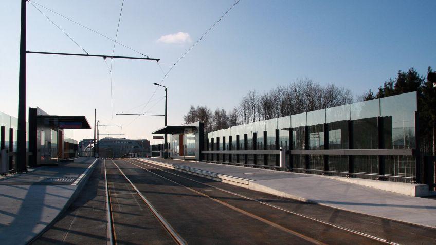 Glattalbahn,  Haltestelleninfrastruktur  Kloten  Balsberg
