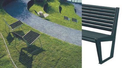 stadtbank v typ sitzbank mit r ckenlehne burri. Black Bedroom Furniture Sets. Home Design Ideas