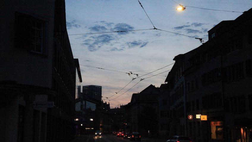 Stimmungsvolle  und  sichere  Beleuchtung  entlang  der  Technikumstrasse