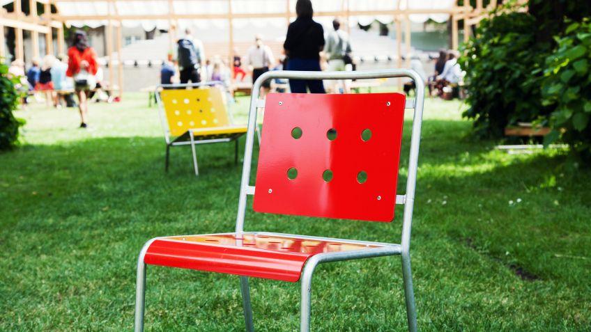 Original Stella Stühle geben Farbe