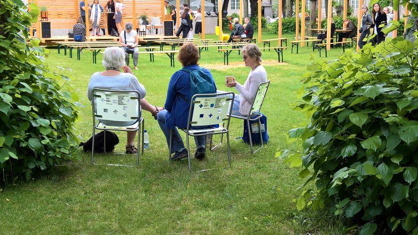 Spezialdesign der Stella Stühle