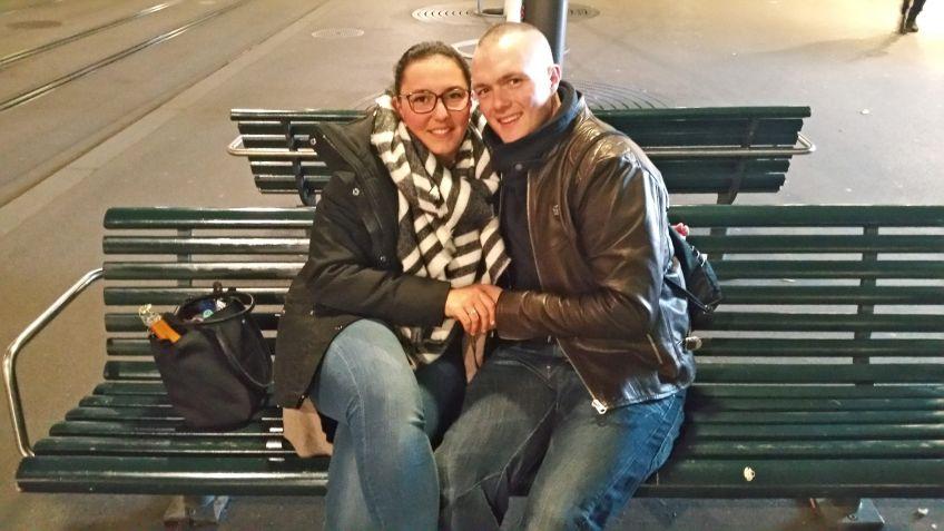 Verlobung auf der Sitzbank Bahnhofstrasse
