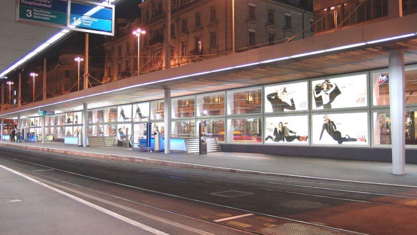 City  Lights  LK,  Zürich  Hauptbahnhof