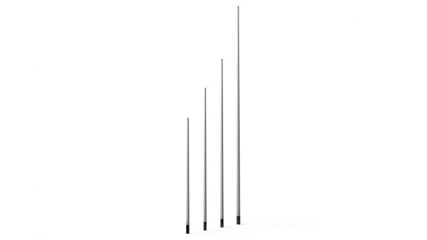 BURRI blu - Kandelaber KALA, Lichtpunkthöhe 4m, 5m, 6m und 8m