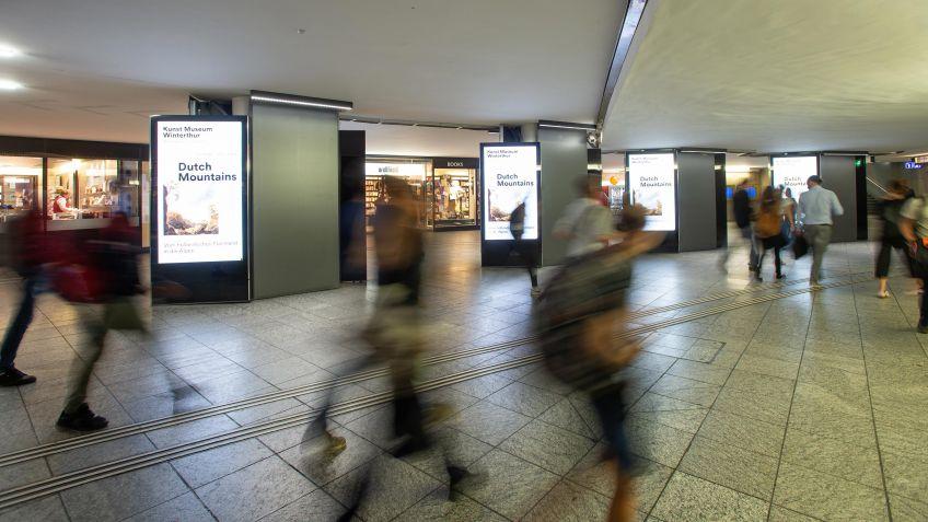 Das Ergebnis passt hervorragend ins Gesamtbild des Bahnhofs
