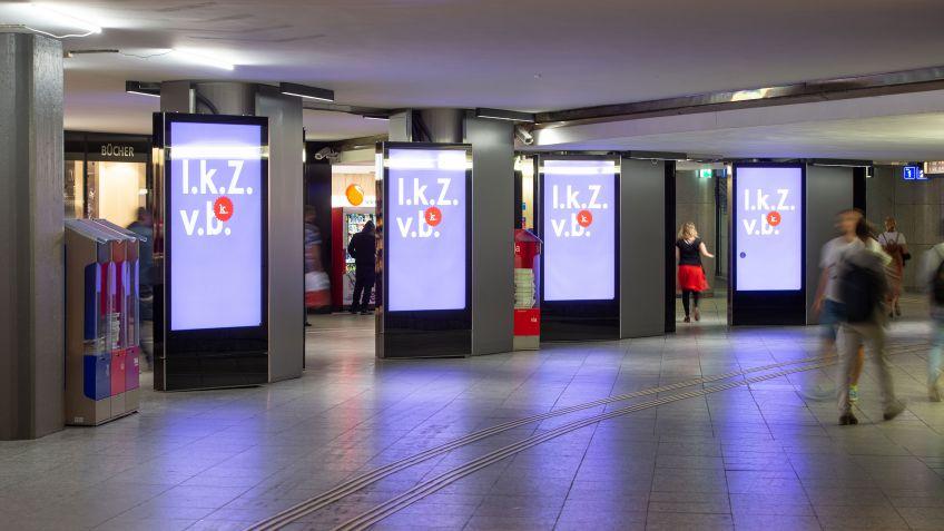 Architektonische Integration von digitaler Werbung