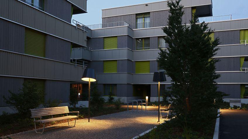 Living Room und Landi Bank bei den Alterswohnungen Holzlegi in Winterthur