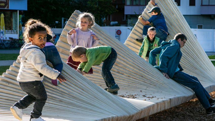 Auch die Kinder haben riesigen Spass