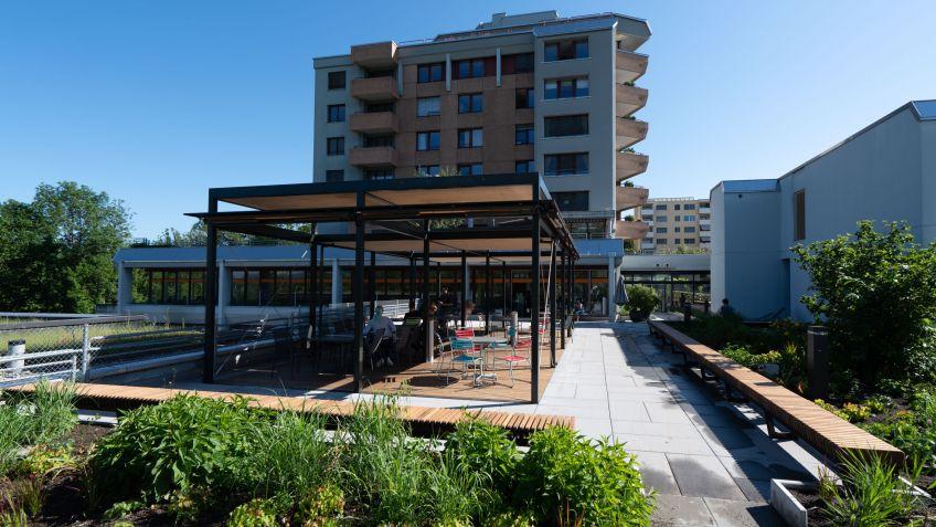 Eine Wohlfühloase - die Terrasse bei Valida