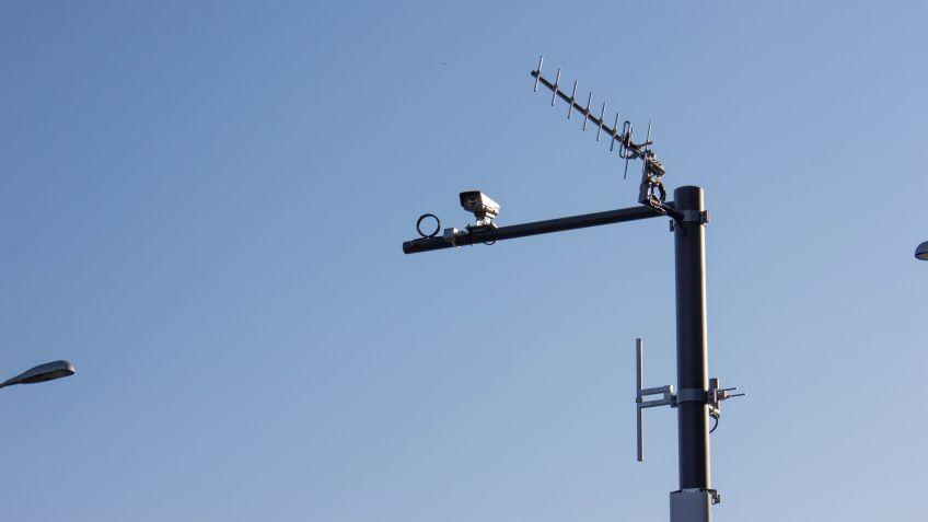 Kameramasten für Bus-Verkehr
