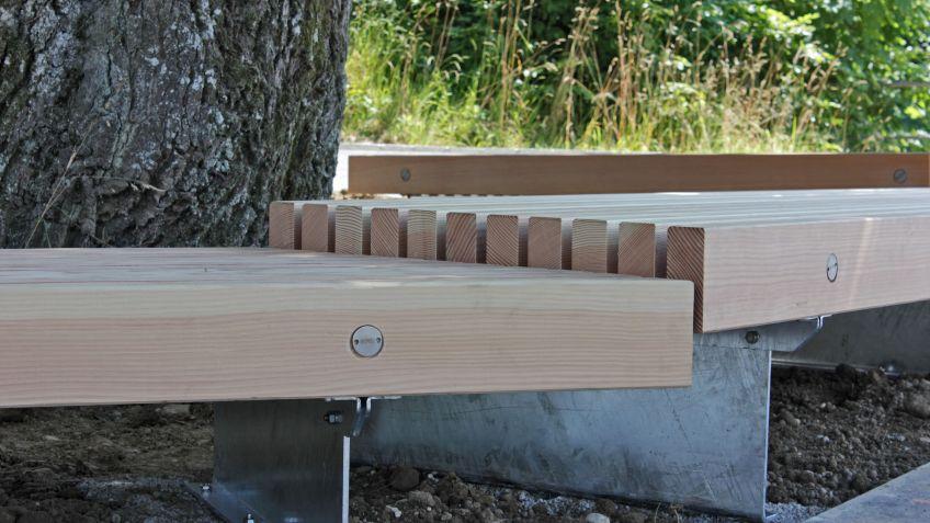 Heimisches Douglasien Holz