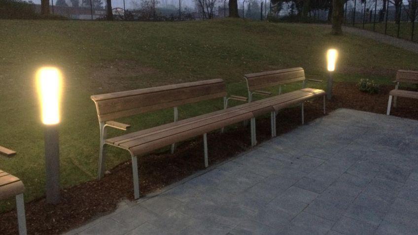 Das  Public  Light  von  BURRI  in  Aktion
