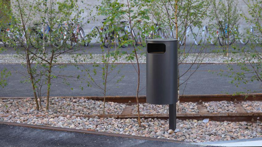 Bewährtes  und  leicht  zu  bedienendes  Abfallsystem:  Public  Bin  von  BURRI.