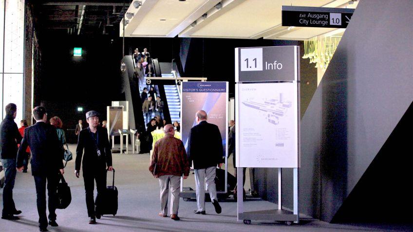 Signaletik  im  Kontext,  Messe  Basel
