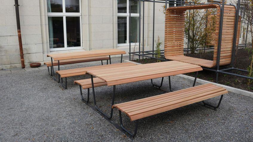 Meetings im Freien - Outdoor Office Space an der ETH Zürich