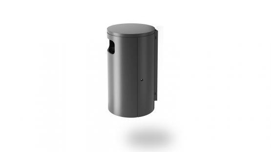 BURRI blu - Abfallbehälter BULI für Wandmontage