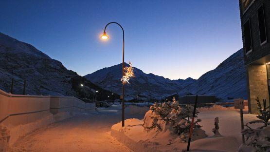 Die ALLEY Leuchte in Andermatt