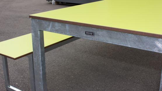 Von BURRI für Kinder – Landino Bank-Tisch-Bank-Kombination