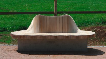 "moveART sculpture ""wave"""