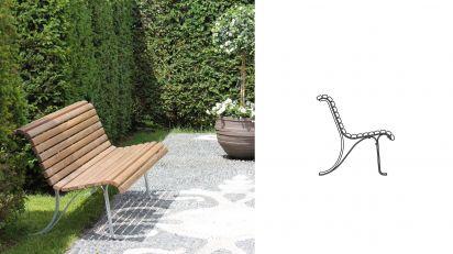 landi sitzbank mit r ckenlehne burri. Black Bedroom Furniture Sets. Home Design Ideas